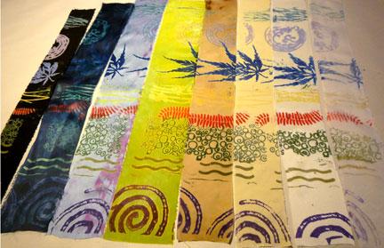 vat dye samples