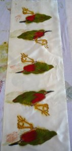 green herons after steaming